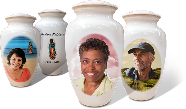 Personalized Photo Urns