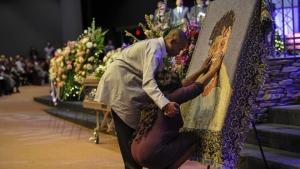 funeral blanket