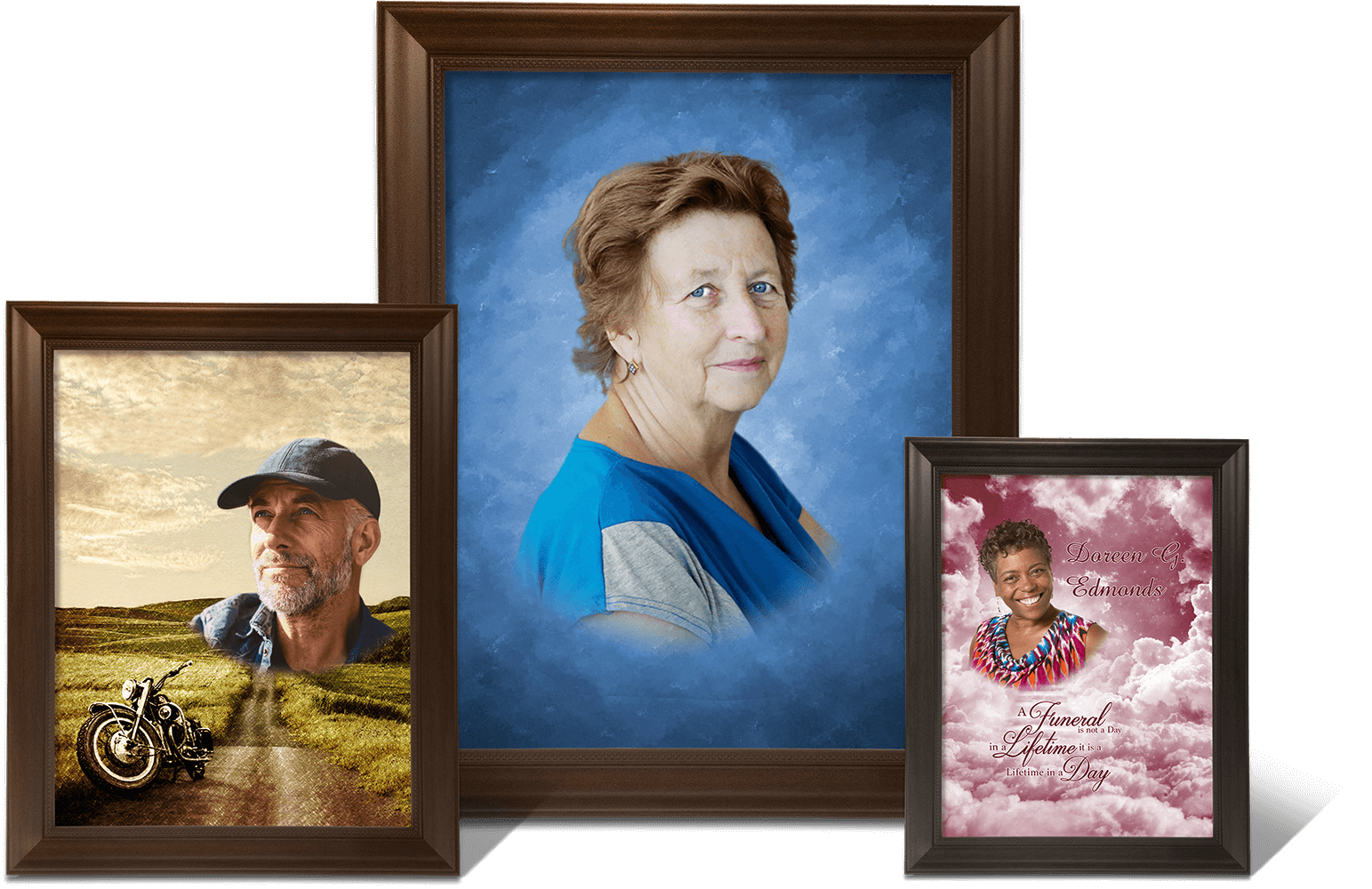 Personalized Funeral Portraits